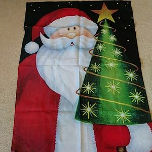 Christmas Santa Claus Winter Season Flag Banner